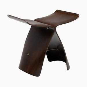 Japanese Rosewood Butterfly Stool by Sori Yanagi