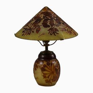 Lámpara de mesa de Gallè, década de 1900