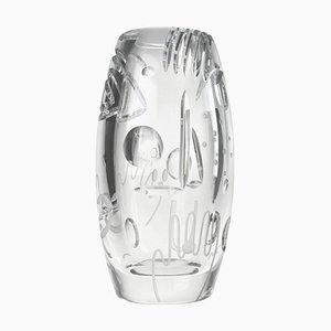 Krystal Kut Vase von Malwina Konopacka