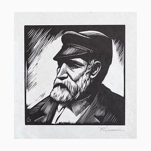 Unknown, Portrait, Lithograph on Paper, Early 20th Century