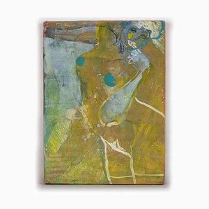 Anastasia Kurakina, Nude, Oil Painting on Cardboard, 2018