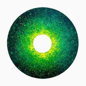 Luca Cioffi, Green Temperature, Painting, 2021