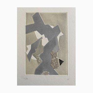 Hans Richter, Artistic Composition, Etching, 1973