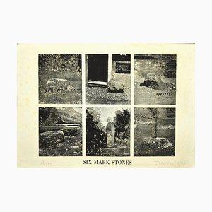 Joe Tilson, Six Mark Stones, Etching on Paper, 1976