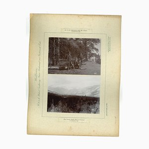 Unknown, Yellowstone Park, Mr. Doose, Original Vintage Photo, 1893