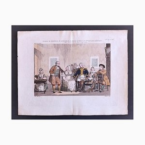 Pierre Maleuvre, Theatre of Vaudeville, Lithograph, Late 18th Century