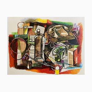 Renato Guttuso, Still Life, Offset Print, 1980s