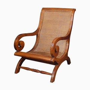 Mahogany Berger Library Chair