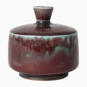 Kleine Steingut Vase von Berndt Friberg für Gustavsberg
