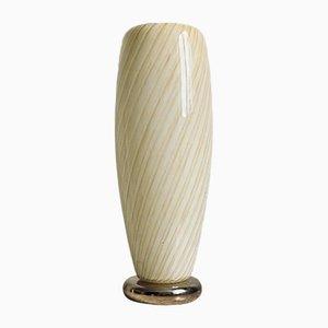 Murano Swirl Glass Table Lamp