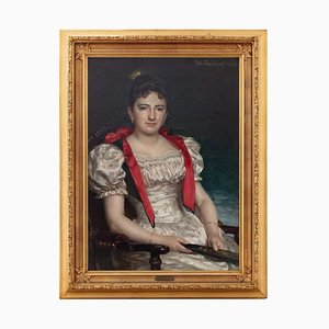 Portrait of a Lady by William Jacob Rosenstand