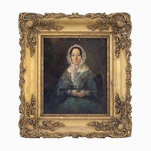 Portrait einer Dame mit Haube, 19. Jh
