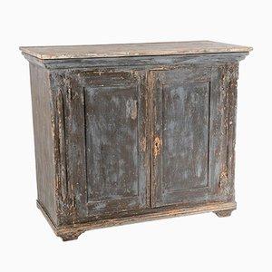 Swedish 19th Century Painted Pine Cupboard Storage