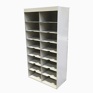 Industrial Metal Mail Sorter Shelves