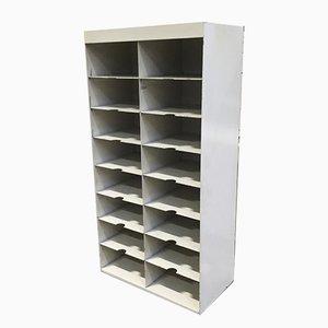 Industrial Metal Mail Sorter Shelves