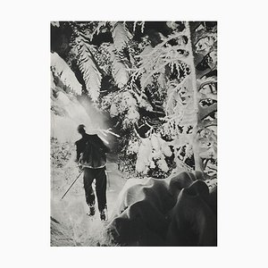 Skiing in the Alps by Karl Machatschek for Revue Verve