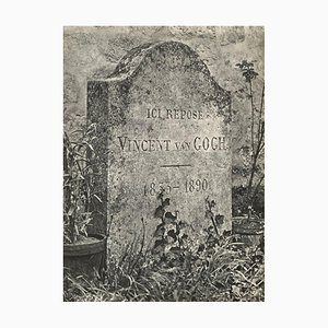 Van Gogh's Grave by Erwin Blumenfeld for Revue Verve