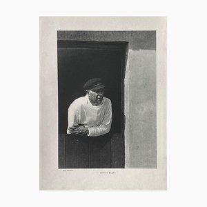 Georges Bracques Portrait, Bill Brandt, Revue Verve