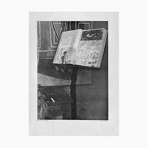 Georges Bracques Rednerpult von Bill Brandt für Revue Verve