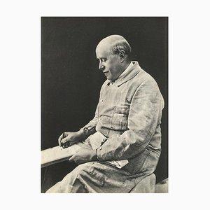 Georges Rouaults Portrait, Bill Brandt, 1936, Revue Verve