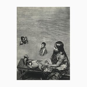 Bath in the Ganges by Gaetan Fouquet for Revue Verve