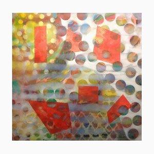 Spazio Enormous, pittura astratta Mixed Media, Peter Rossiter, 2016