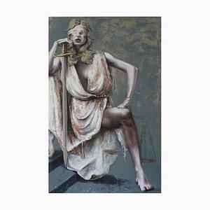 Justice III, Figuratives Ölgemälde, 2016