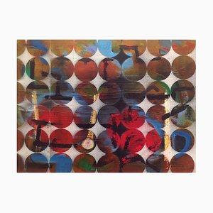 Abaco, pittura su supporti misti, Peter Rossiter, 2015