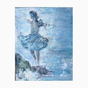 Oceans Dance, Öl auf Leinwand
