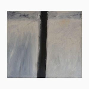 Line and Space, Mixed Media Painting, Peter Rossiter