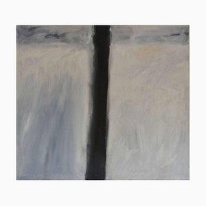 Línea y espacio, Mixed Media Painting, Peter Rossiter