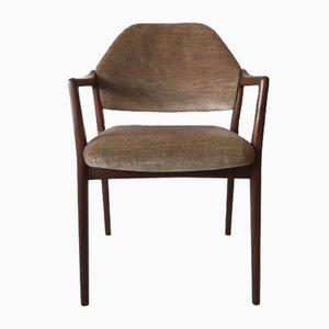 Teak Easy Armchair from Wilkhahn, 1950s