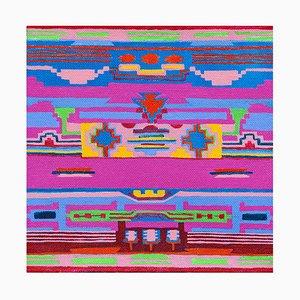 Decke von Gebeten und Gemälden, Abstrakte Malerei, Susan Bleakley