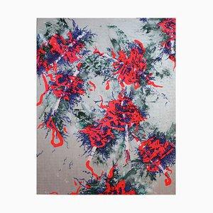 Saut d'Argent, Peinture Abstraite
