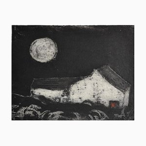 Red Door Cottage, Limited Edition, Etching, 2013