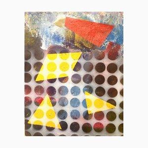 Peinture Three Plus One, Technique Mixte Contemporaine, Peter Rossiter, 2016