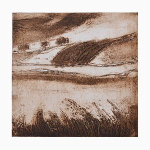 Serpia English Landscape, Limited Edition Etching, 2017