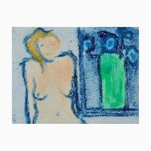 Grüne Vase, Limited Edition Radierung, 2011