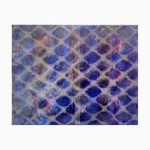 Sand Grid, Mixed Media Painting de Peter Rossiter, 2015