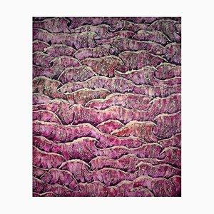 Fruin Water, Peinture de Paysage Expressionniste Abstraite, 2019
