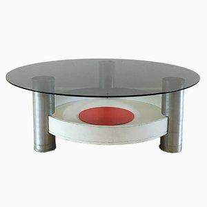 Tavolino da caffè Space Age vintage industriale