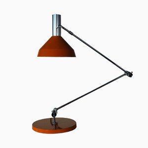Orange Type 60 T Desk Lamp by Rico & Rosemarie Baltensweiler, 1960
