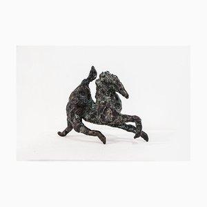 Strider, Bronze Horse, 2018, Raw Edges
