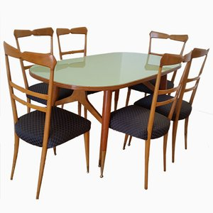 Italian Dining Set by Ico and Luisa Parisi