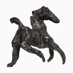 Turning Point, Bronze Horse, Raw Edges, Wax
