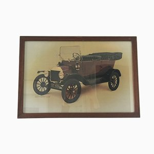 Poster vintage Ford di Waterlow London