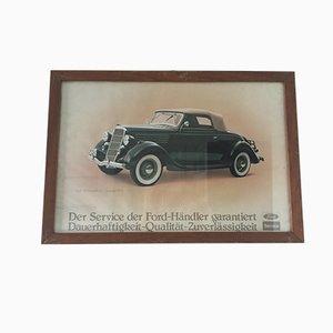 Poster Ford Showroom di Waterlow London