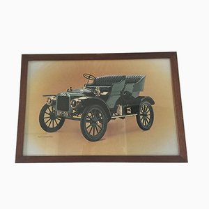 Poster vintage Ford incorniciato di Waterlow London