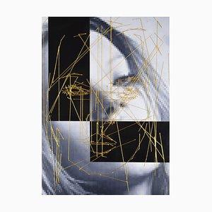 Ant Pearce, Kate #6 #2e. Mixed Media Art, 2014