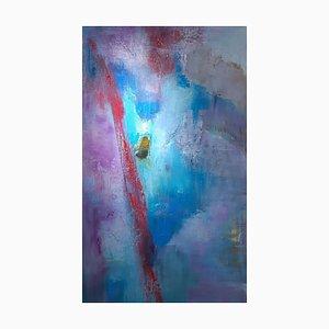 Earth's Lost Remains 1, Abstraktes Expressionistisches Ölgemälde, 2019